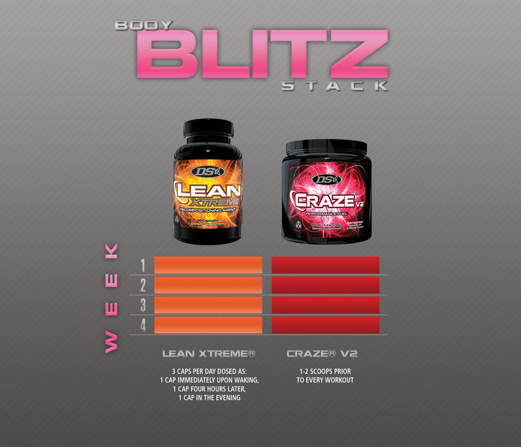 Body Blitz Stack for Women