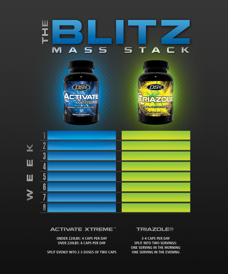 Blitz Mass Stack for Men